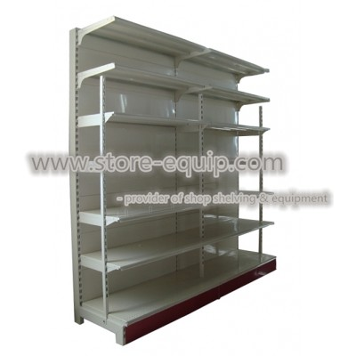 Outrigger shelving (detachable front tube)