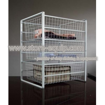 House storage cabinet (basket stand)