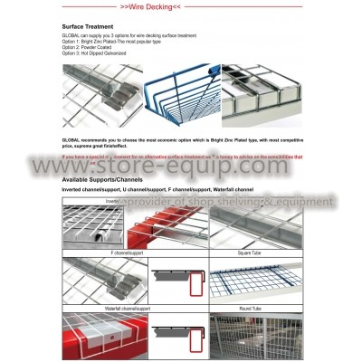 Wire deck (for pallet racking)
