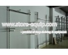 stainless steel wall system for clothes